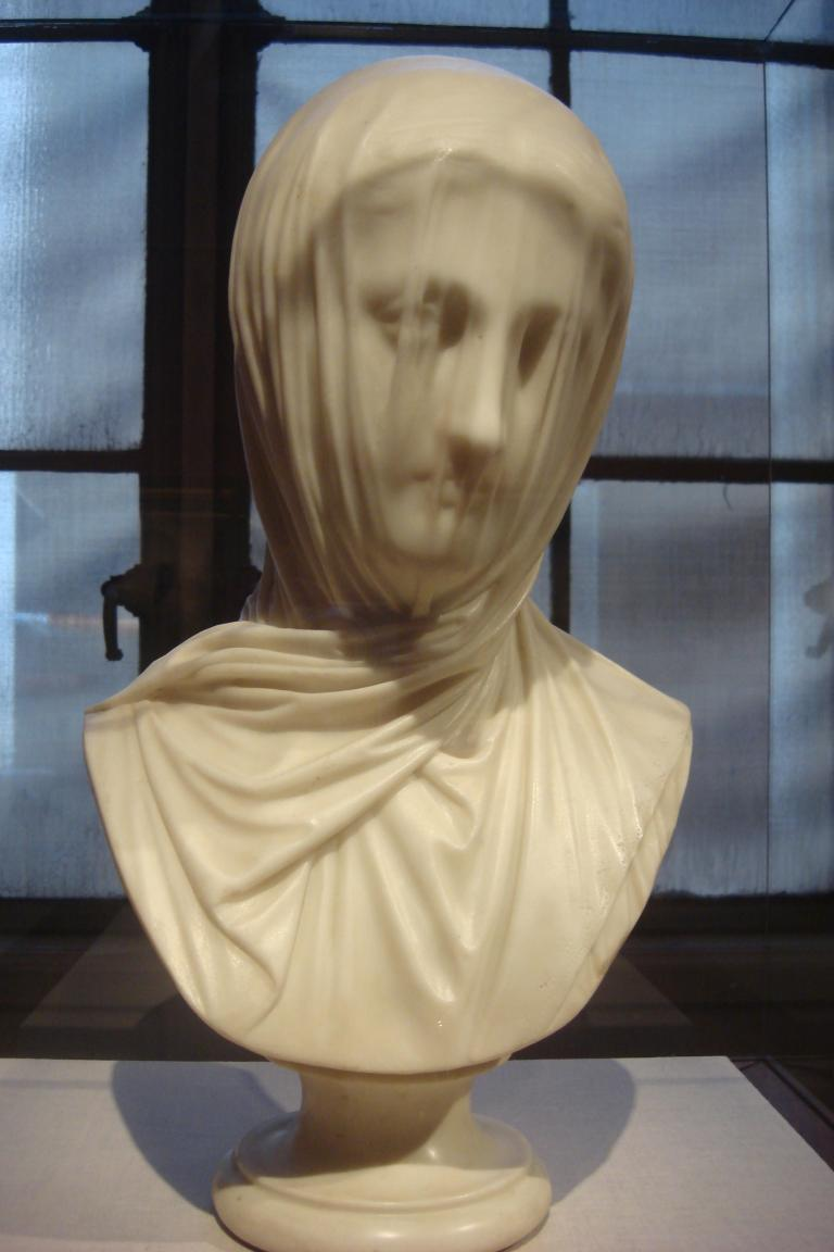 Corcoran - The Veiled Nun - Guiseppe Croff - 1860-1