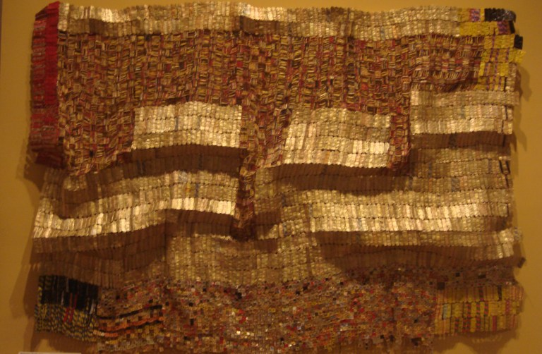 El Anatsui Between Heaven and Earth 2006 Metropolitan NY-2