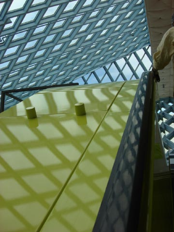 Rem Koolhaas' Seattle Public Library July 09 35