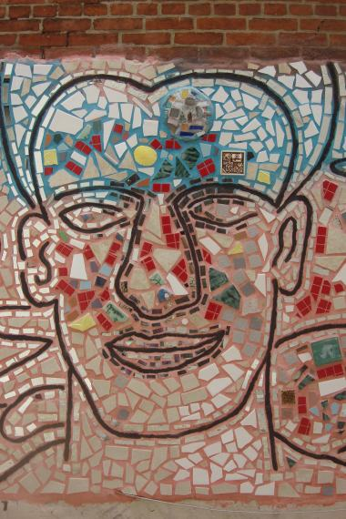 Tile murals Isaiah Zagar 10th Street Society Hill 09112015-3