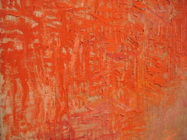 A part of Philip Guston Painting 1954 MOMA