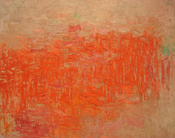 Philip Guston Painting 1954 MOMA