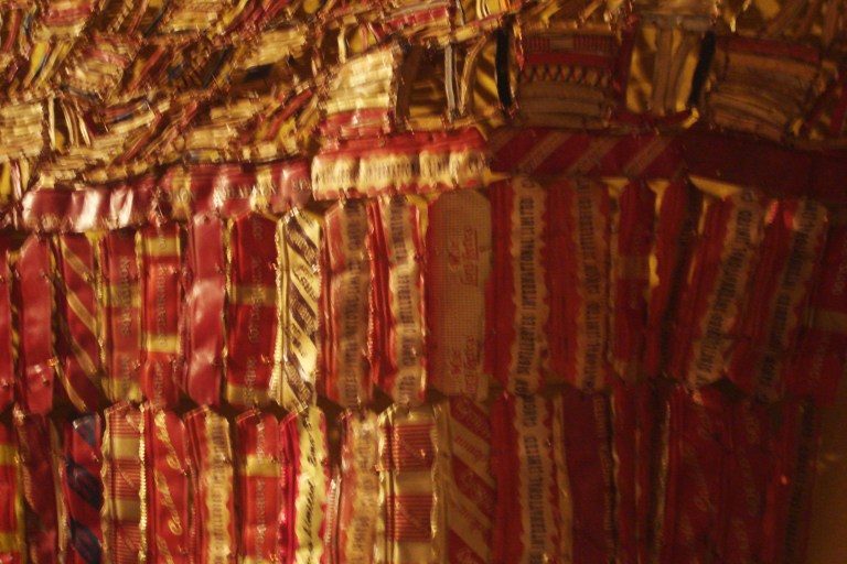 El Anatsui Between Heaven and Earth 2006 Metropolitan NY-6