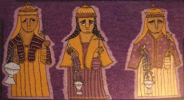 after a painting in Abune Gebre Mikael, Qoraro, Tigrai