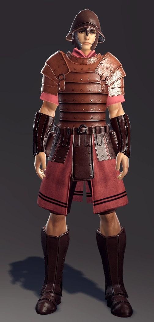 Armor Leather Studded Tunic