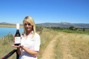 Caelli on Eco Wine Safari