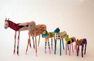 Some of the wonderful Monkeybiz creations.