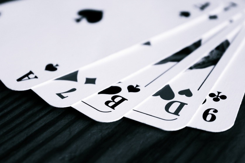 Verkrijg de uitdrukkingen in Texas Hold Em