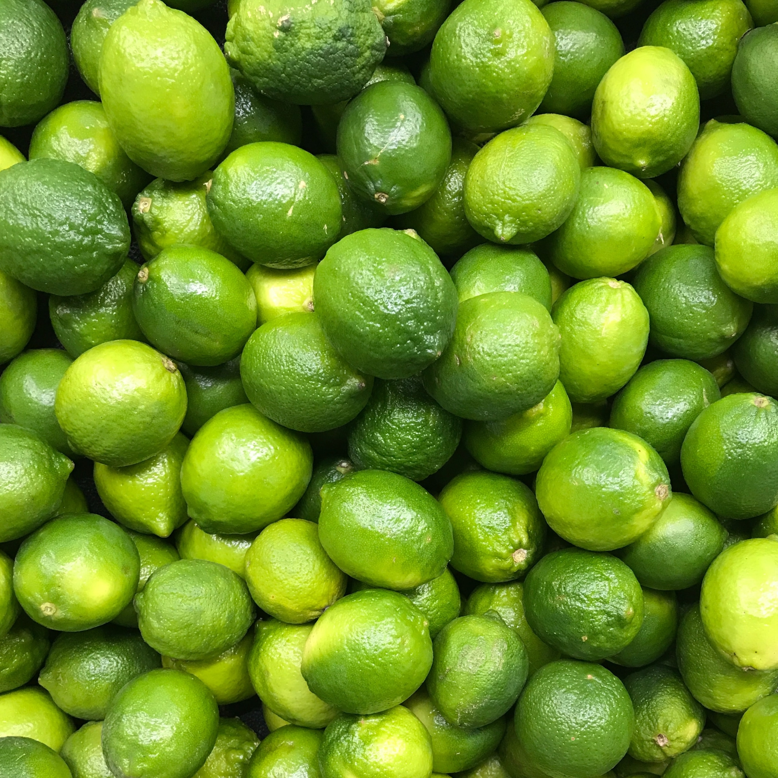 bunch of whole limes