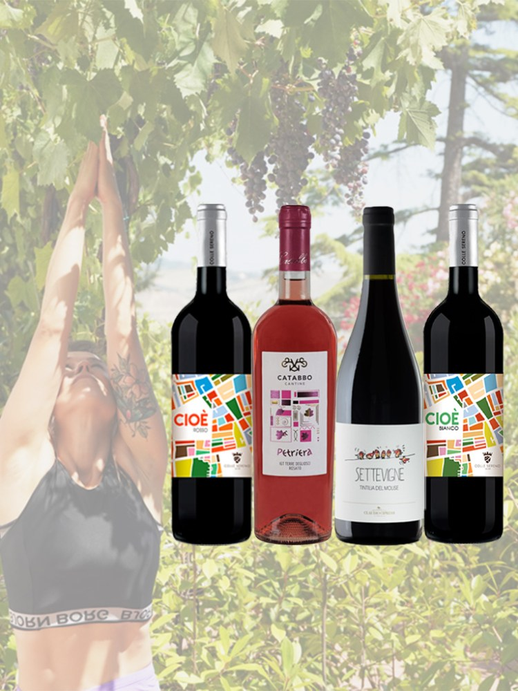 Vine and Soul Wine and Yoga Case