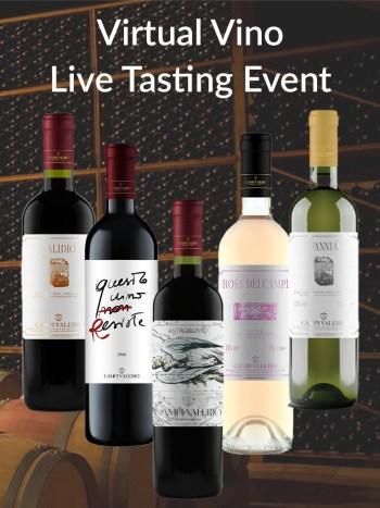 Virtual Vino Live Event Campi Valerio