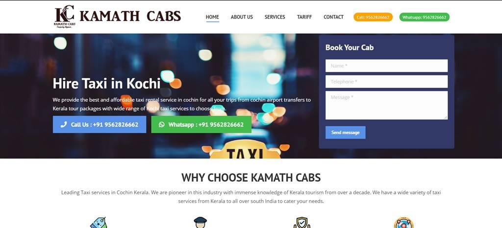 kamath cabs seo client