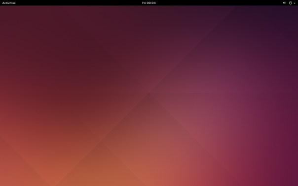 GNOME HomeScreen