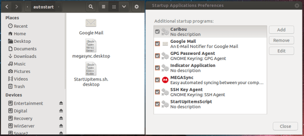 Starup Applications Folder and Tool