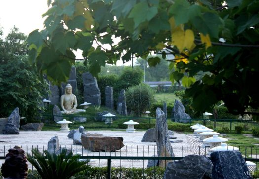 The Buddha Statue (Phase - 1) - Japanese Garden Chandigarh