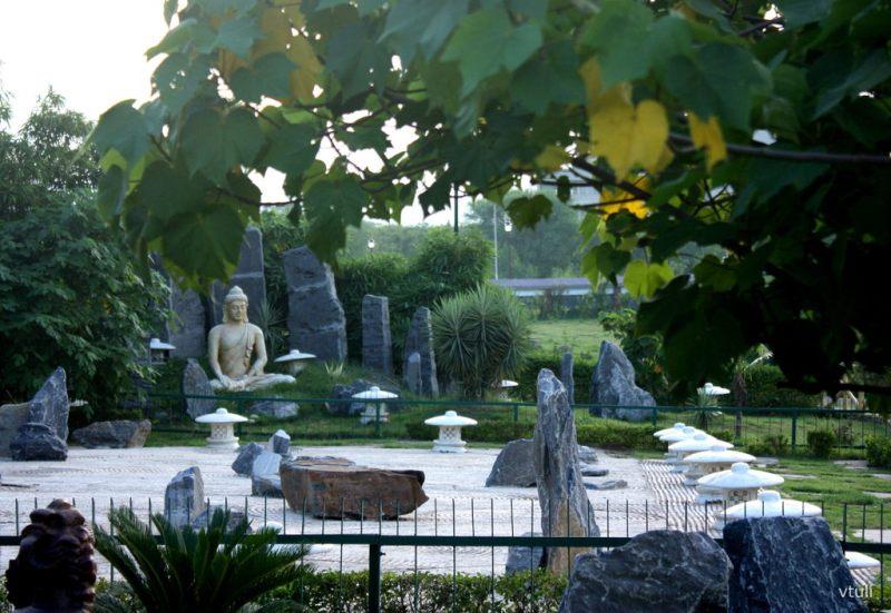 The Buddha Statue (Phase - 1) - Japanese Garden Chandigarh