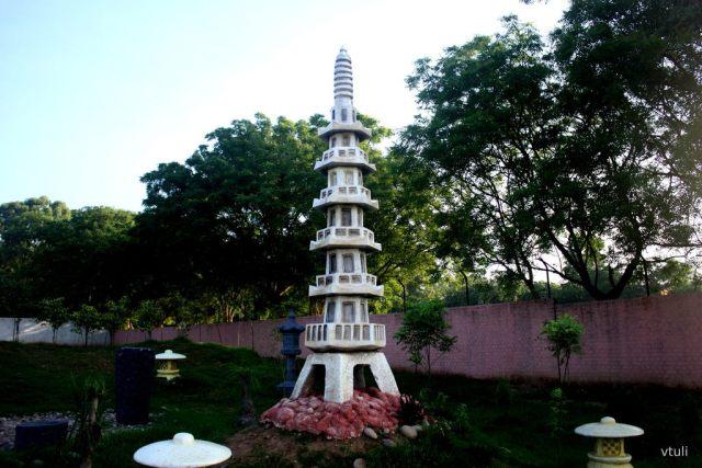 The Stone Pagoda - Japanese Garden Chandigarh