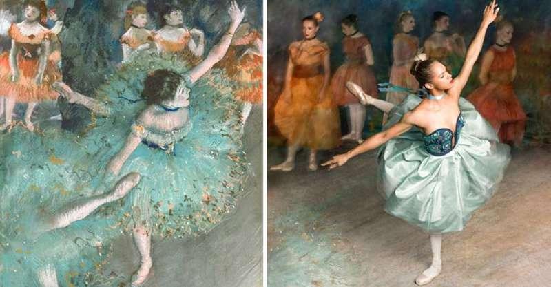 balerina-afroamerikanka vossozdaet znamenitye kartiny edgara dega_vinegret (1)