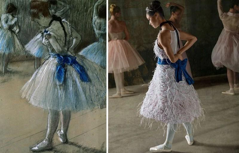 balerina-afroamerikanka vossozdaet znamenitye kartiny edgara dega_vinegret (3)