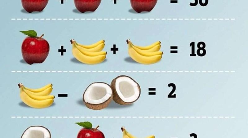 А сможете ли вы найти ответ на эту детскую задачку?