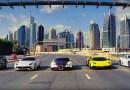 Видео: Автогонщик Кен Блок устроил ралли на улицах Дубая.