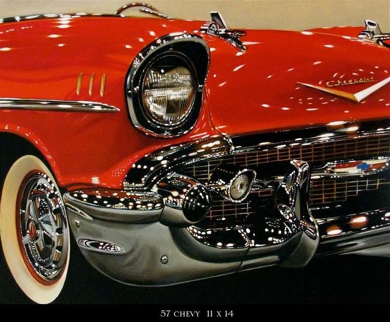 Cheryl Kelley_realistichnie_kartini_avtomobiley_vinegret (5)