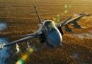 Видео: Полет сверхзвукового истребителя засняли с помощью дорогостоящей камеры и специальной стабилизирующей установки.