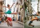 Омар Роблес и его фотографии танцоров балета на улицах Кубы.