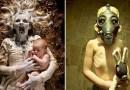 Фотограф создает хоррор-снимки, моделями в которых выступают его собственные дочери.