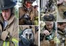 Фотографии пожарных, которые рисковали своей жизнью, чтобы спасти животных.