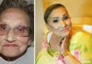 80-летняя бабуля стала интернет-сенсацией благодаря своей внучке-визажисту.