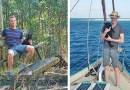 Этот парень отправился путешествовать по Австралии вместе с любимой кошкой.