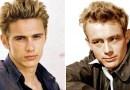 Фотографии популярных актеров в образах реальных людей, которых они играли в кино.