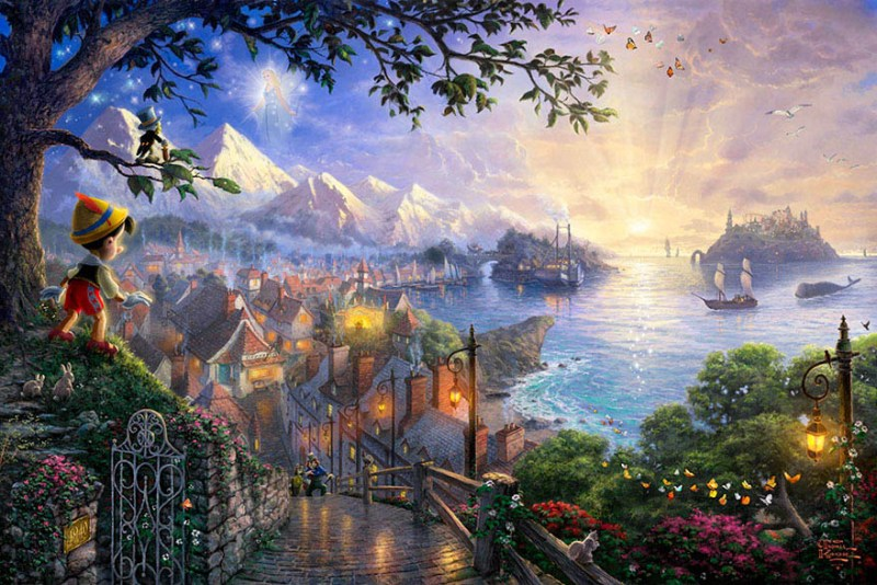 disney-paintings-thomas-kinkade-vinegret (10)