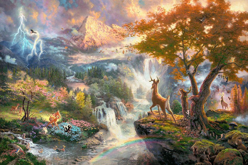 disney-paintings-thomas-kinkade-vinegret (19)