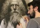 Художник тратит по 100 часов на создание своих картин, используя при этом технику эпохи Ренессанса.
