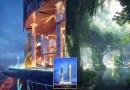 В Дубае планируют открыть первый в мире отель с тропическим лесом.