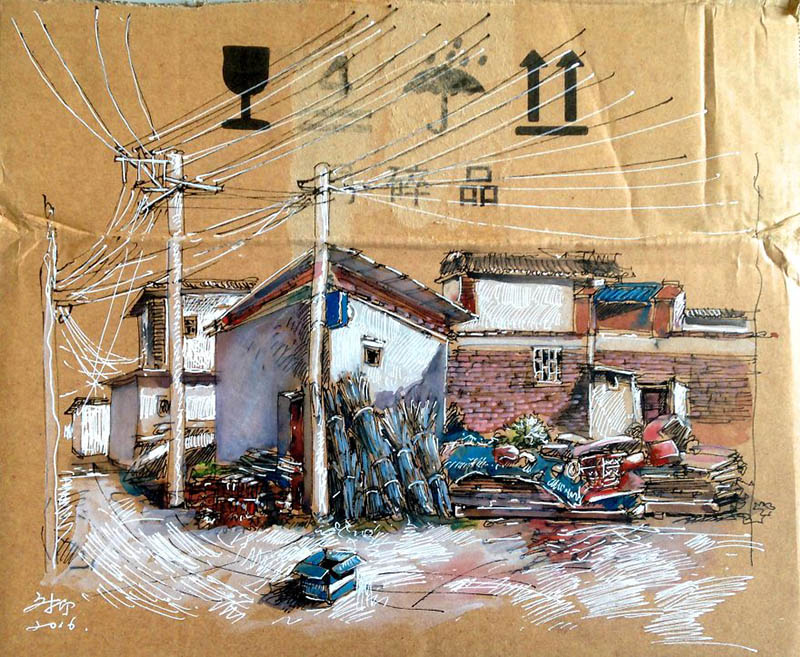 drawing-with-waste-paper-vinegret (12)