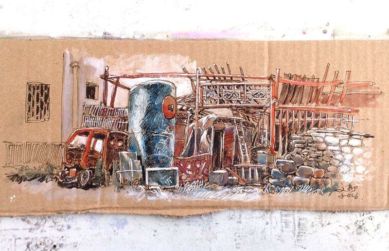 drawing-with-waste-paper-vinegret (17)