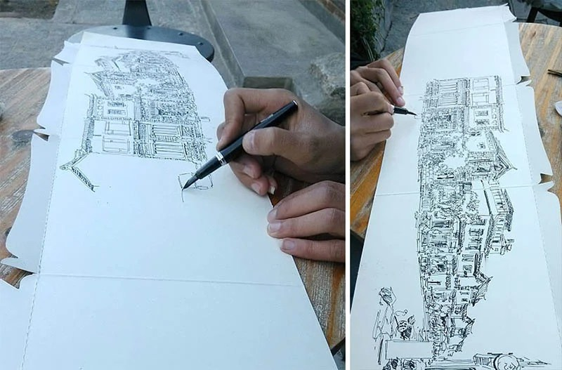 drawing-with-waste-paper-vinegret (9)