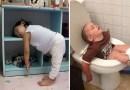 Эти 20 фотографий лишний раз доказывают, что дети могут спать везде.