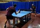 Видео: Каково это — играть в настольный теннис всем, чем угодно, но только не ракеткой?