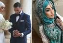 Самые красивые невесты в хиджабе.