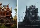Художница создала съедобный дом, который является точной копией особняка из нового фильма Тима Бертона.