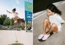 Фотограф из Канады создал серию снимков с девушками-скейтбордистками.