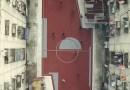 В столице Таиланда построили необычную футбольную площадку.