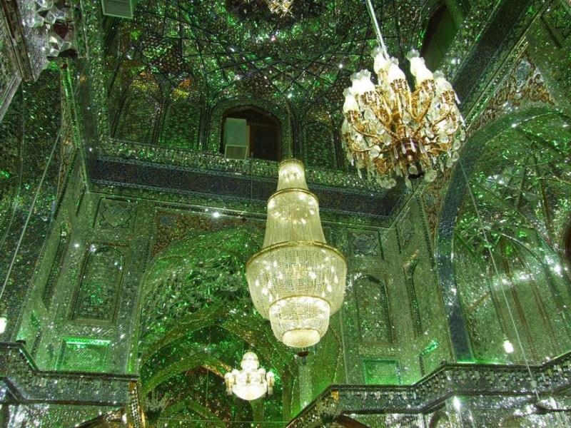 emerald-tomb-ceiling-shah-cheragh-shiraz-iran-vinegret-7