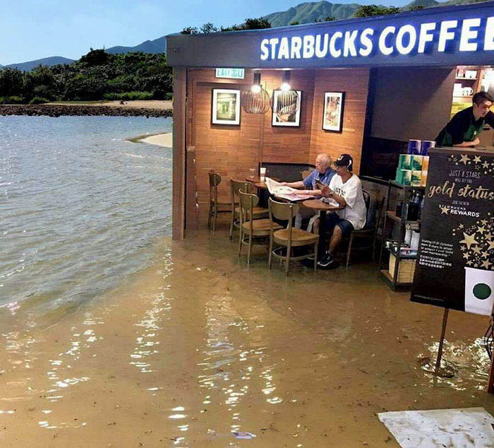 funny-starbucks-uncle-hong-kong-floods-photoshop-battle-vinegret-6