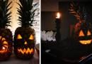А как насчет Светильника Джека на Хэллоуин не из тыквы, а из ананаса?