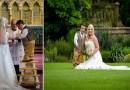 109-сантиметровый жених взял стремянку, чтобы поцеловать в церкви свою невесту.